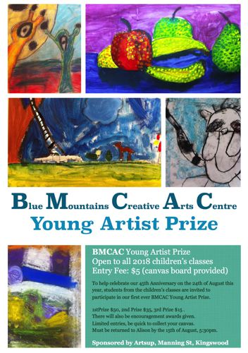 BMCAC Young Artist Art Prize | Blue Mountains Creative Arts